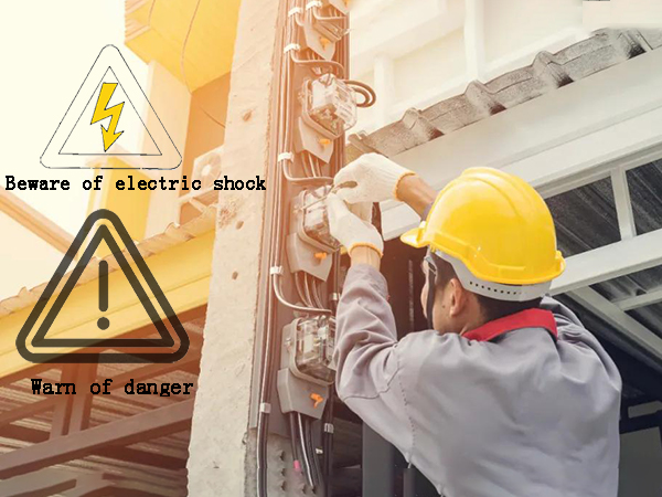 What are the dangers encountered in the work of independent power generation systems?