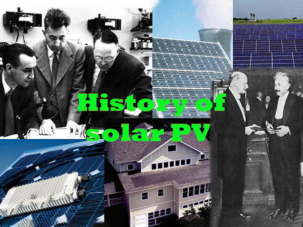 The history of photovoltaic power generation technology